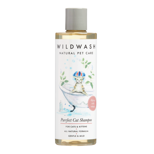 Purrfect cat-shampoo kissalle, 250ml, WildWash PET