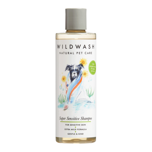 Super hellävarainen shampoo 250ml, WildWash PET