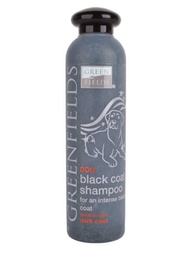Mustan turkin shampoo, Black Coat Shampoo, 250ml, Greenfields