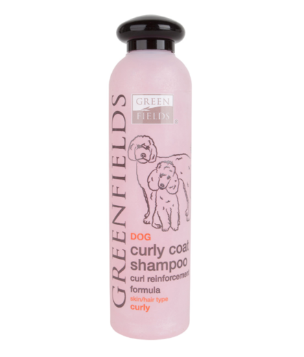 Kiharan turkin shampoo, Curly Coat Shampoo, 250ml, Greenfields