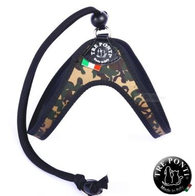 Tre Ponti Easy Fit-valjaat,3-4 kg, camouflage